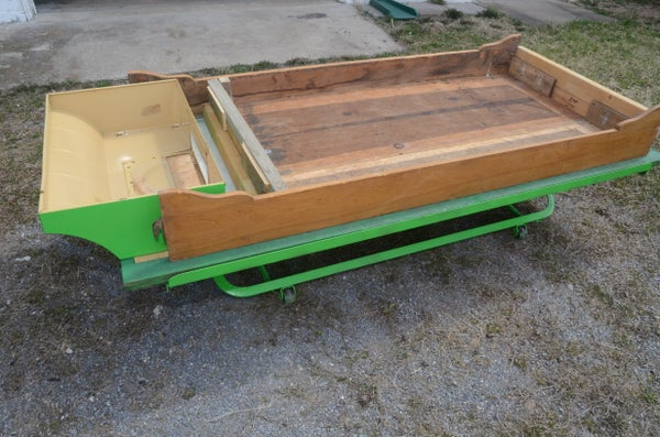 99.7% Reclaimed Mobile Raised Herb Bed