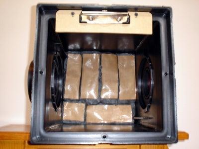 "Making a Portable ""Silent"" Airgun BB/Pellet Trap"