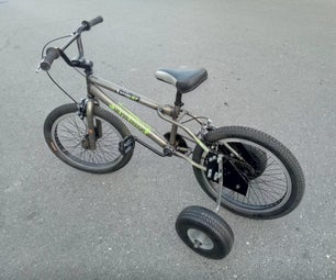 Heavy Duty Bicycle Training Wheels