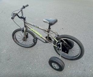 重型自行车训练轮