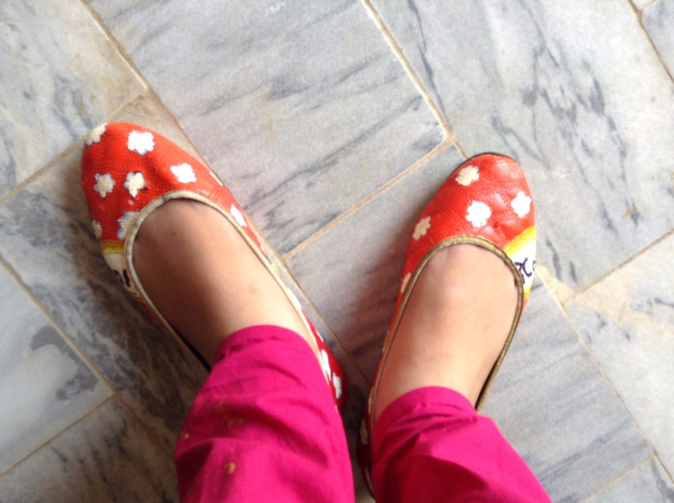 Updated Popcorn Shoes to Walk With Style