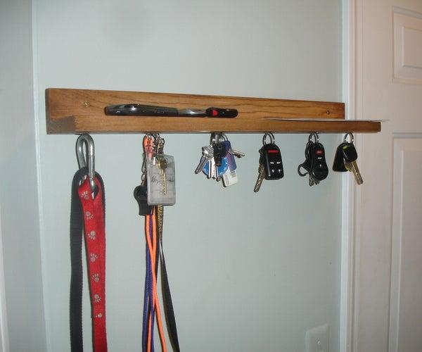 Magnetic Key Shelf