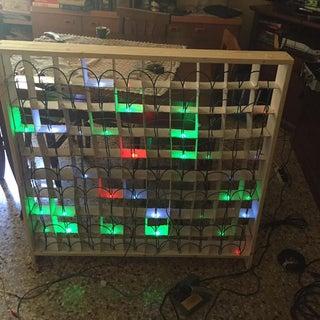 Make Your Own 15x10 RGB LED Matrix