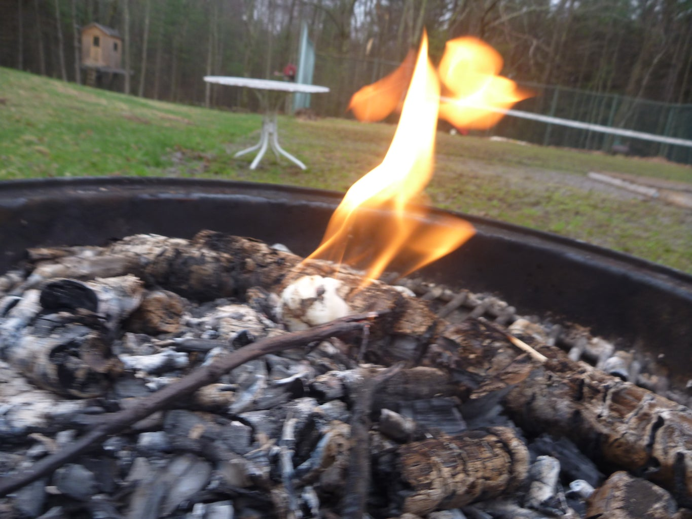 The Fun Step (Lighting Your Fire Starter)