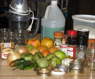 Green Tomato Spicy Relish