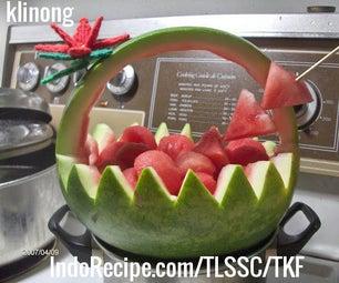 Easy Watermelon Basket