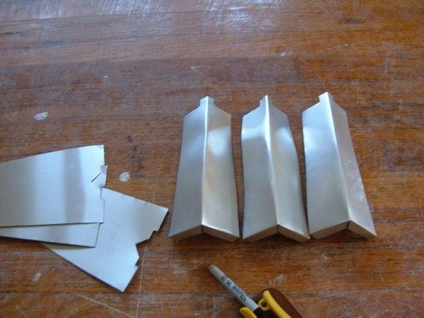 Making an Aluminum Siding Corner