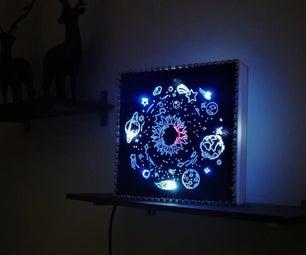 DIY太阳能系统夜灯