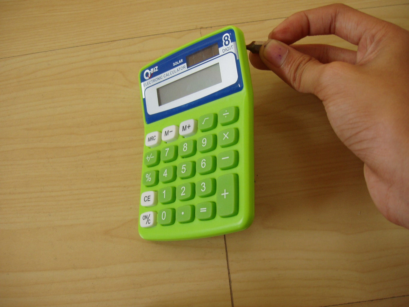 Disassembling the Calculator