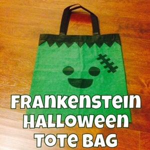 Duct Tape Frankenstein Halloween Bag