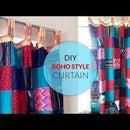 DIY Boho Style Curtain