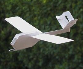 Mini Card Stock Glider Apex Drone Design