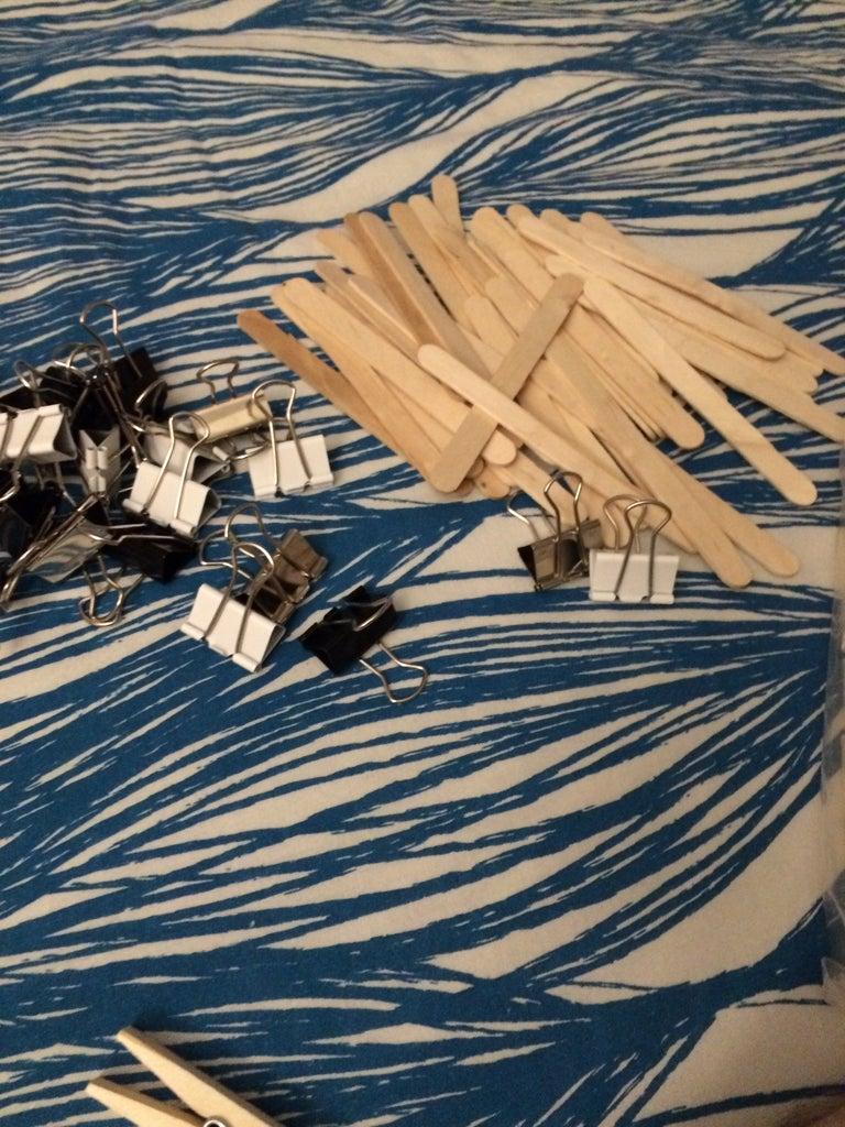 Wood Stick Art Canvas