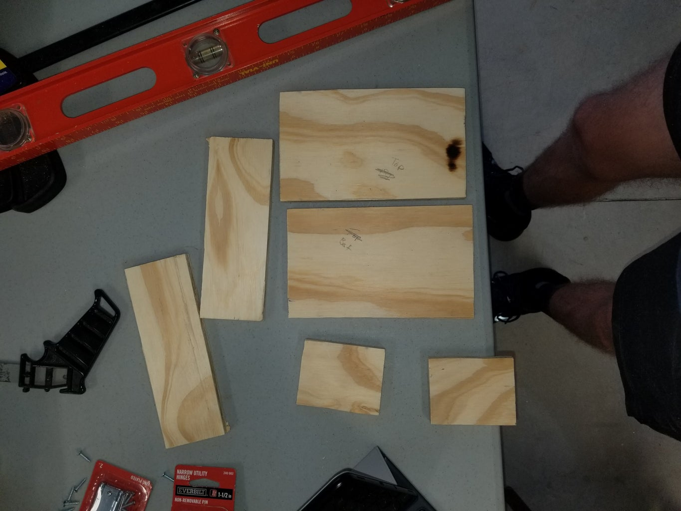 Building the Box Base