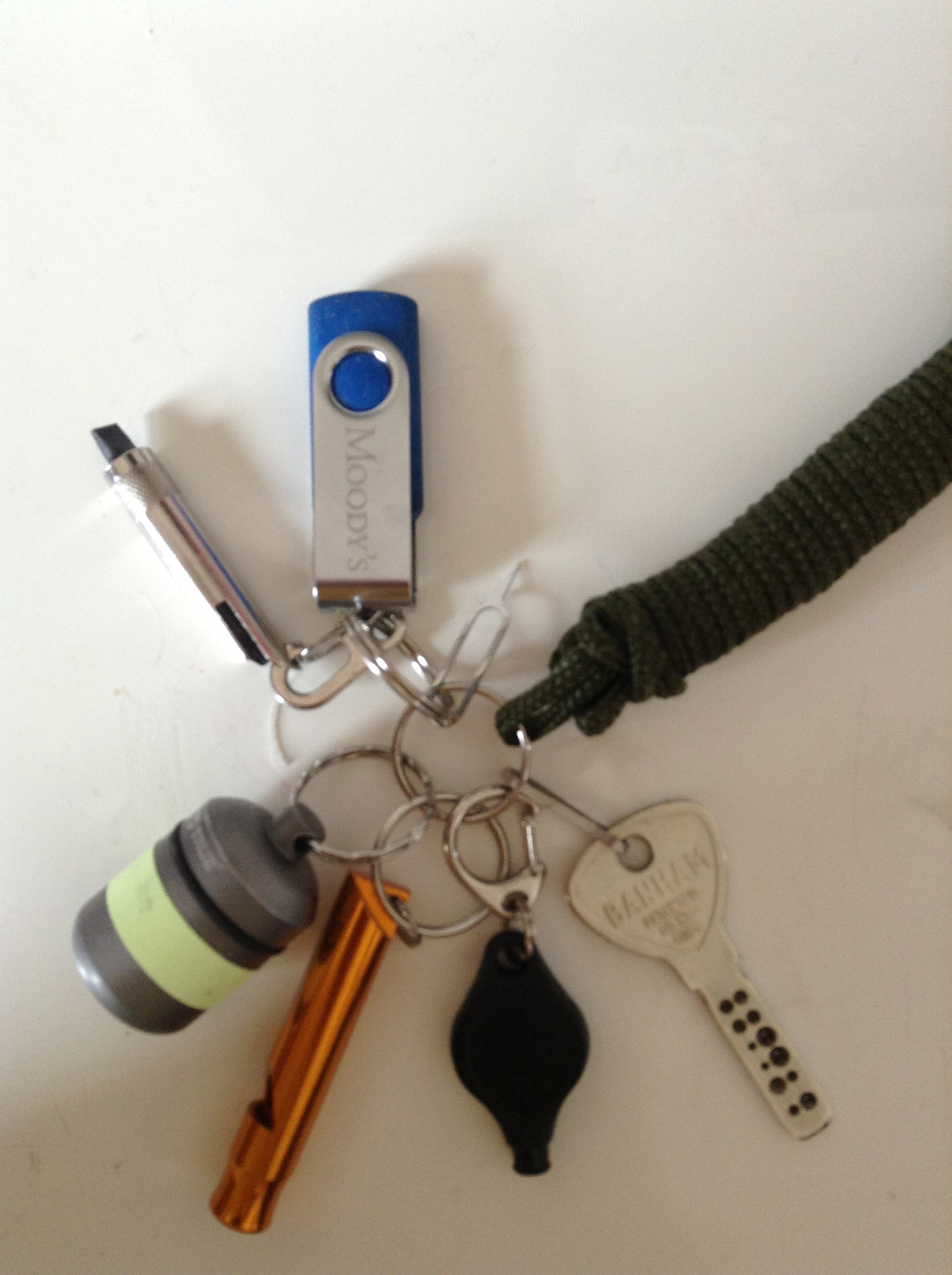 My Survival/Urban Keychain