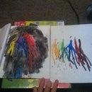 How To Make Cool Crayon Art