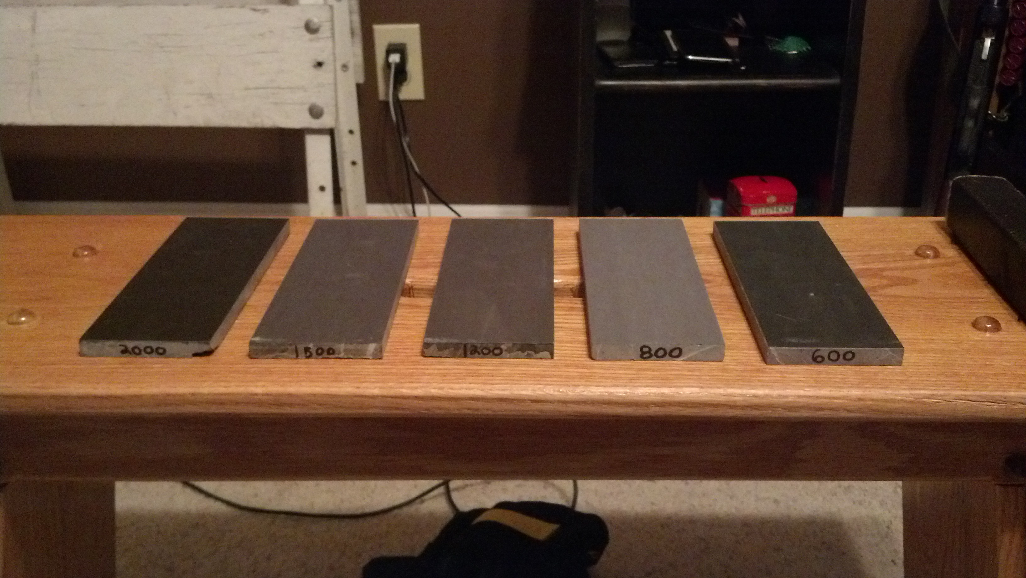 How to make a set of sharpening stones for about 30$