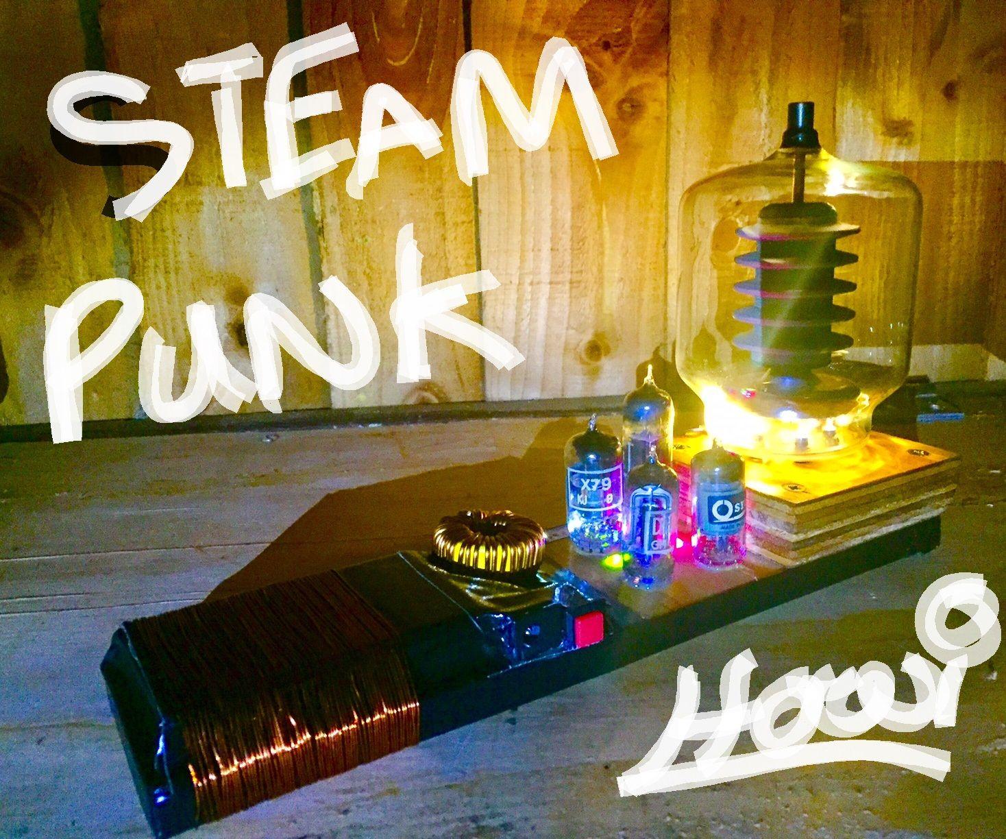 Beautiful Steam Punk Valve LED Lighting