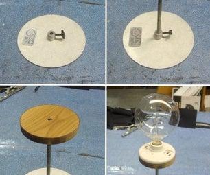 Build a Metal Shade Desk Lamp