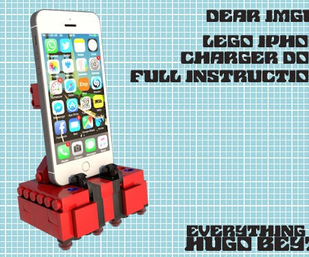 Lego Iphone / Ipod Charger Dock