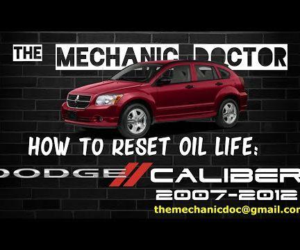 How to Reset Oil Life: Dodge Caliber 2007-2012
