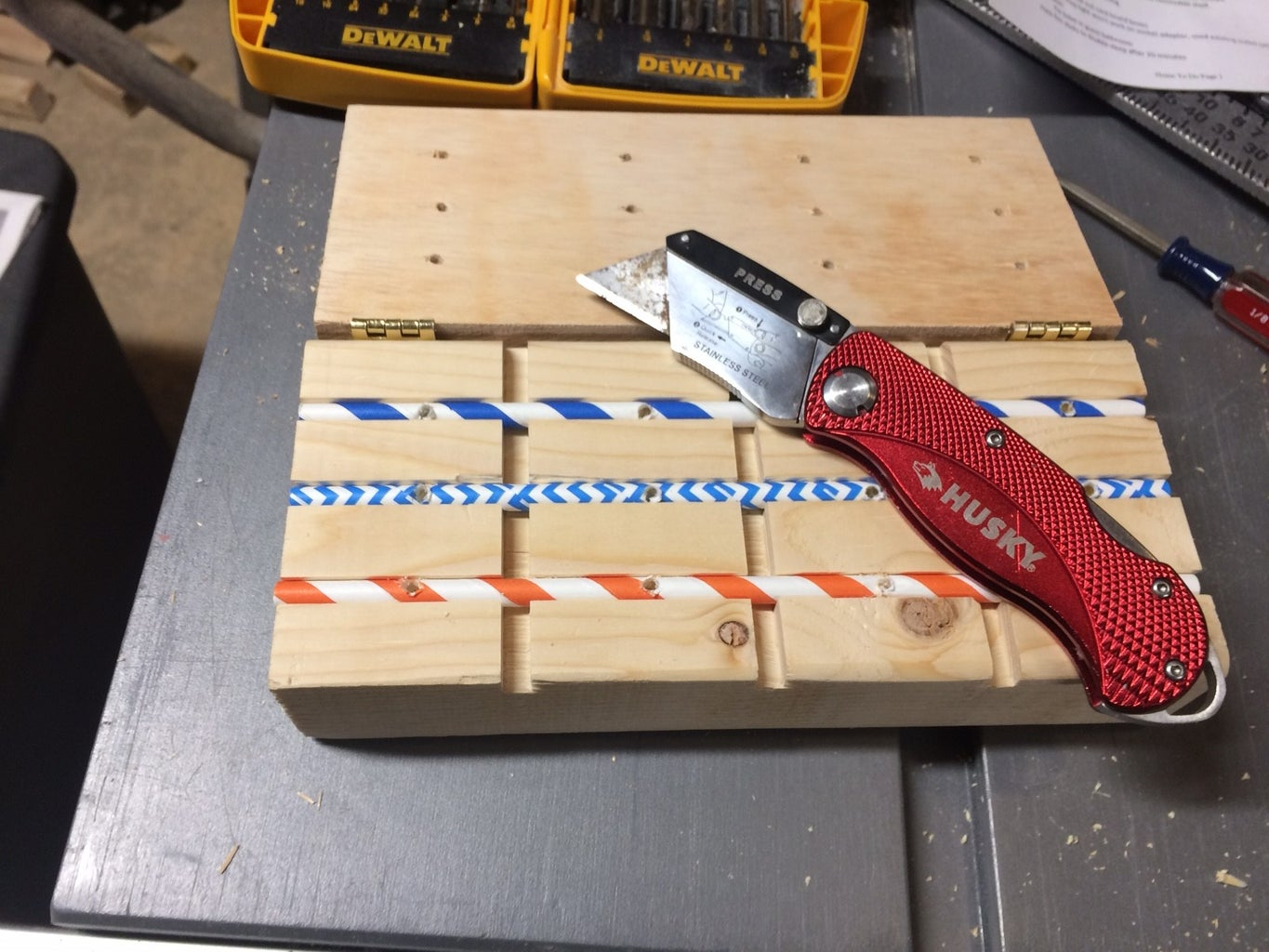 Start Drilling and Cutting Straws