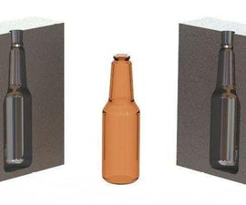 How to Design a Blow Mold of a Bottle in Solidworks