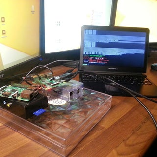 The Raspberry Pi - Lapdock Connection