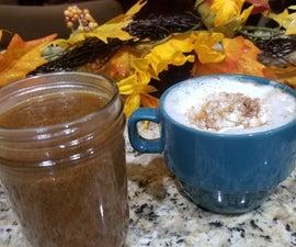Make-at-Home Pumpkin Spice Latte Sauce