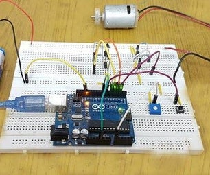 Arduino DC Motor Speed & Direction Control Using Relays