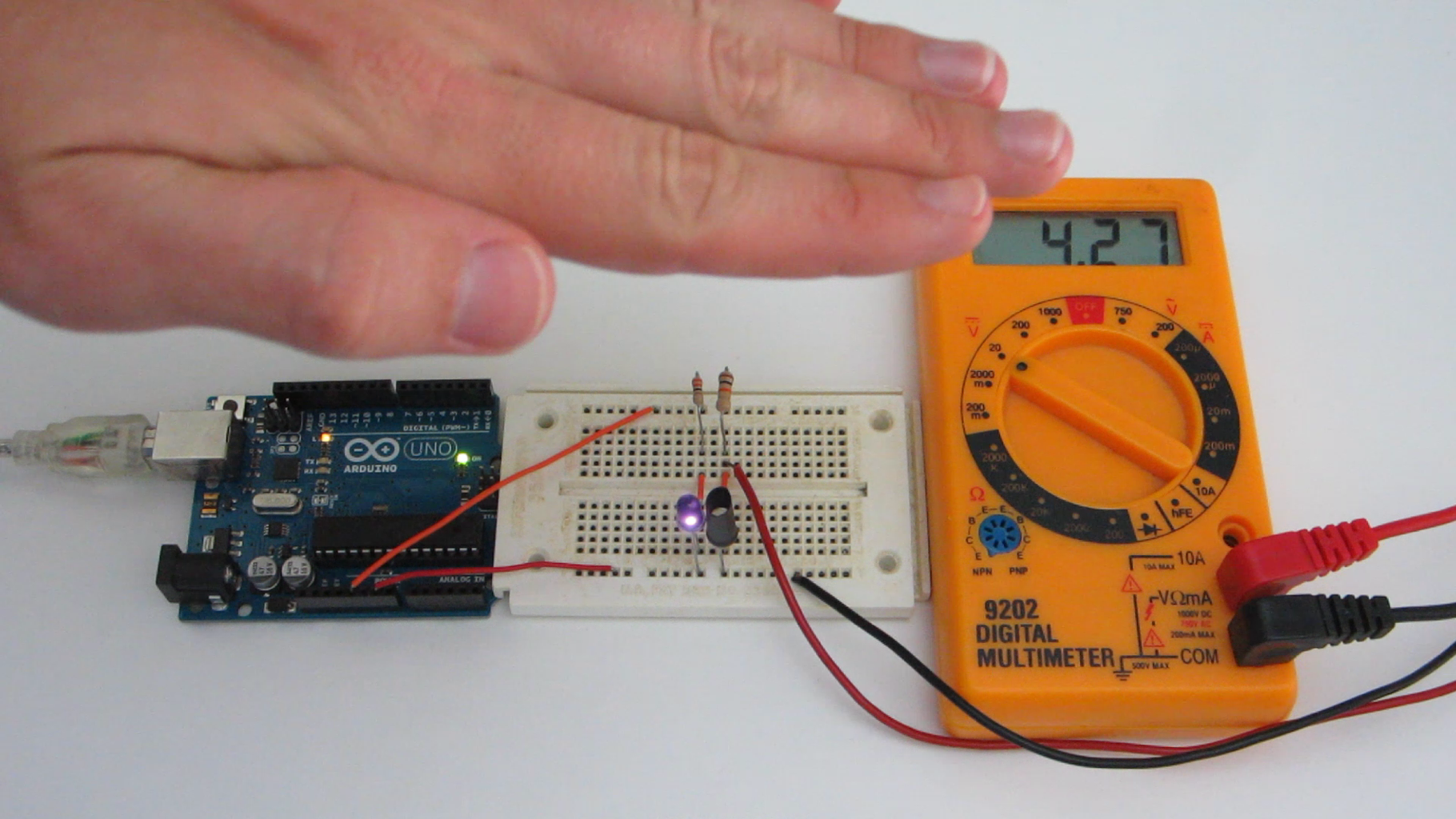 How an Infrared Proximity Sensor Works