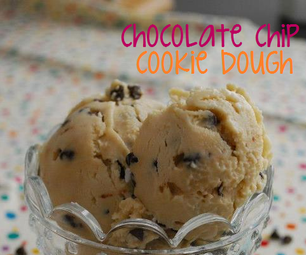 No-Machine Cookie Dough Frozen Yogurt