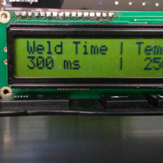 Simple DIY Dual Pulse Spot Welder With Arduino Controller and Screen (microwave Transformer Based)