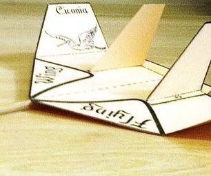 建造鹳,简单但惊人的飞行翅膀!