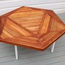 Making Scrapwood coffee table