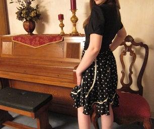 Retro Reconstructed Dress