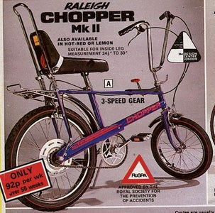 Why Inspired by a Raleigh Chopper?