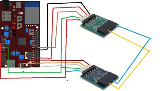 STEP 2: Using Two Spi Modules-oscilloscope and Waveform Generator
