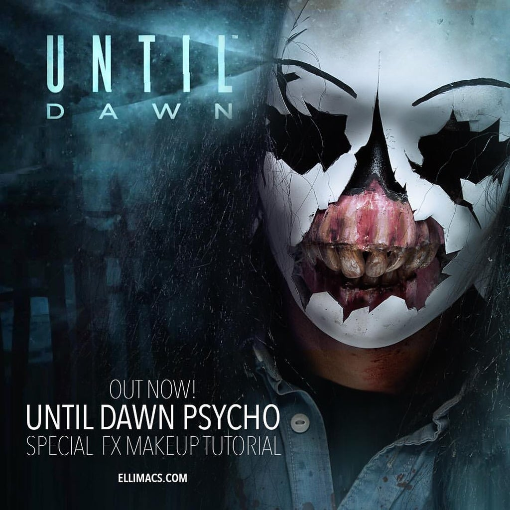 Until Dawn Psycho - SFX Makeup Tutorial