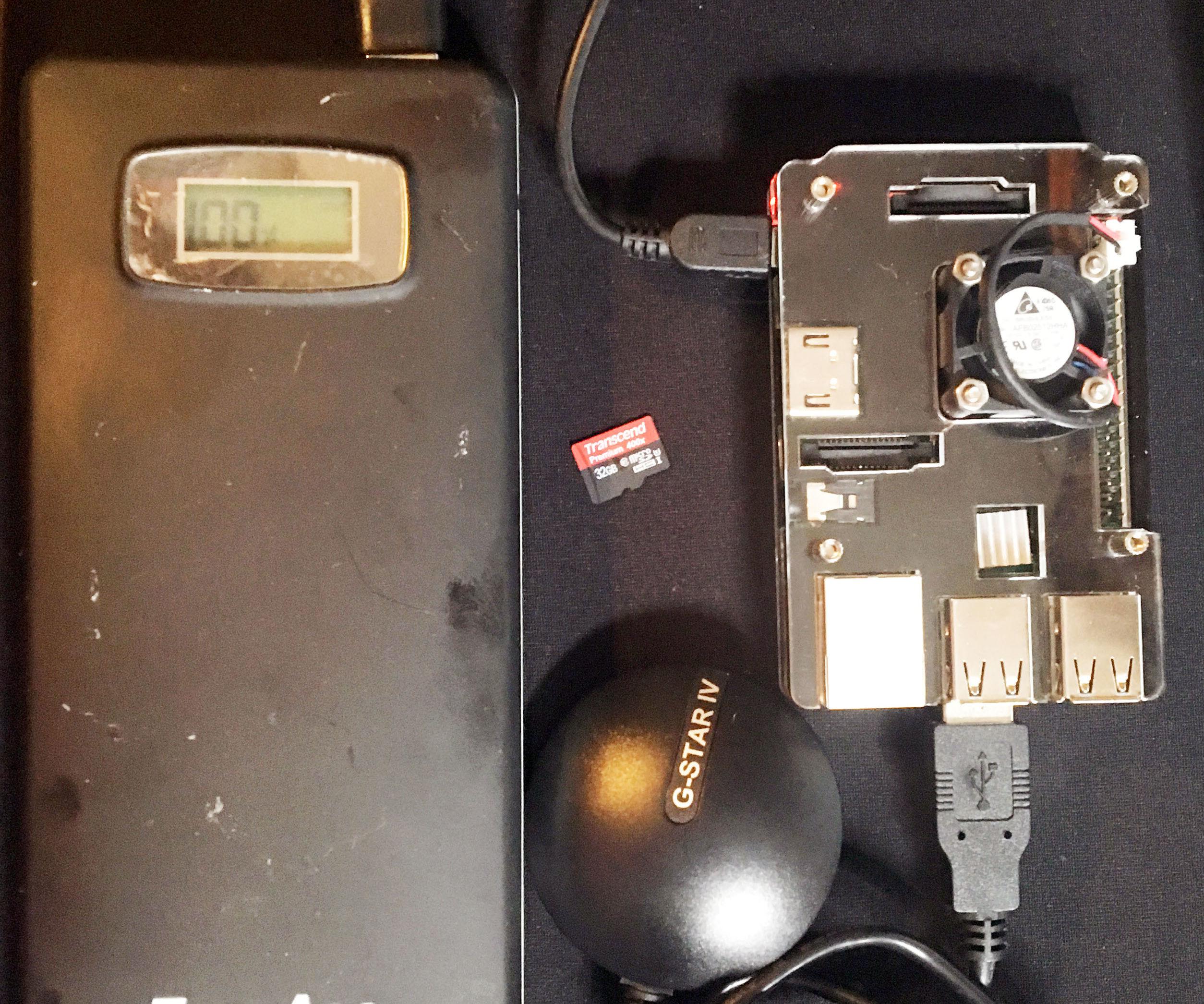 Raspberry Pi 3 GPS Data logger