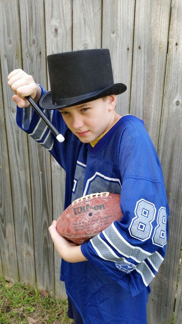 Halloween Costume: Fantasy Football