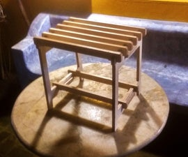 Make a Jigsaw Stool (plywood)
