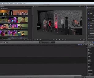 How to Do a Sin City Style Effect With Final Cut Pro X