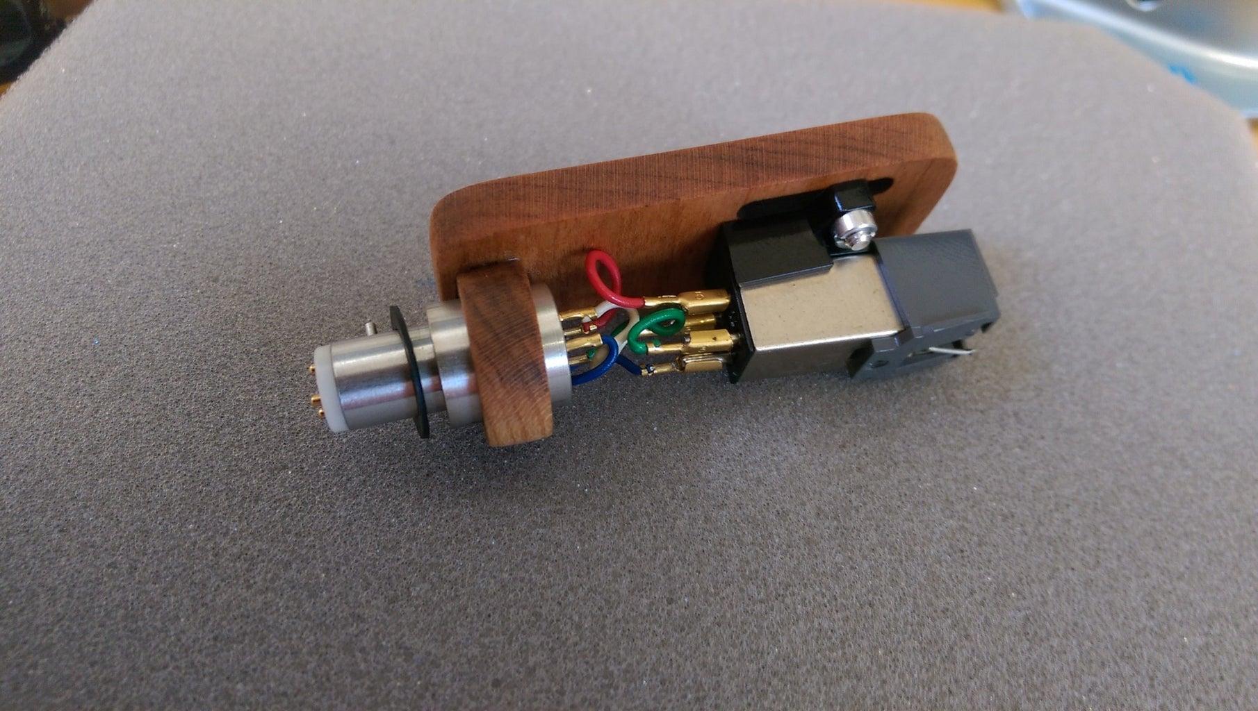 Lasercut Wooden Headshell