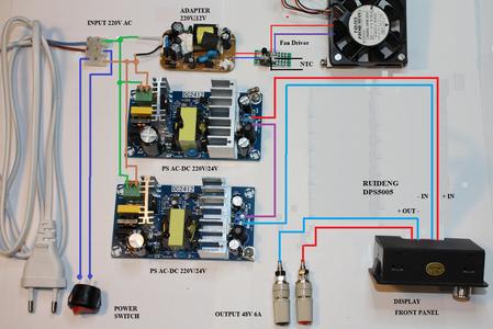 Wiring Diagram - Version a - No Communication
