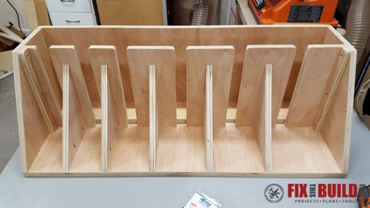 Add Top and Attach Interior Support Arms