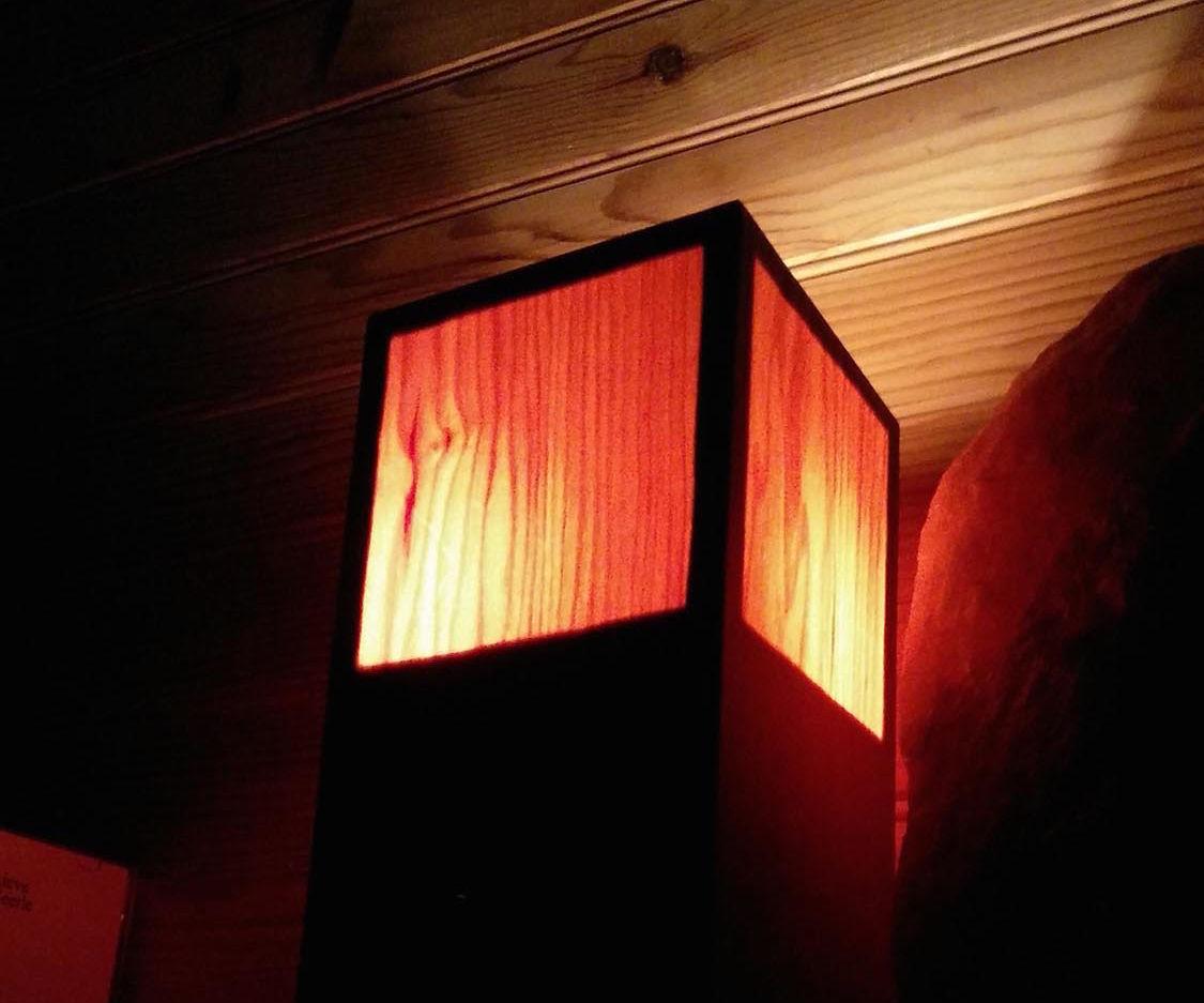 Veneer Wood Lamp