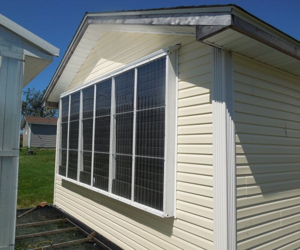 My Eco-Friendly Garage Heater: a Pneumatic Solar Thermal Collector