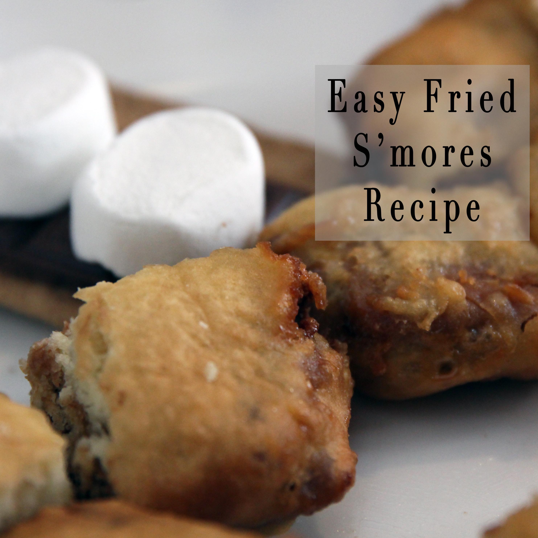 Easy Fried S'mores Recipe