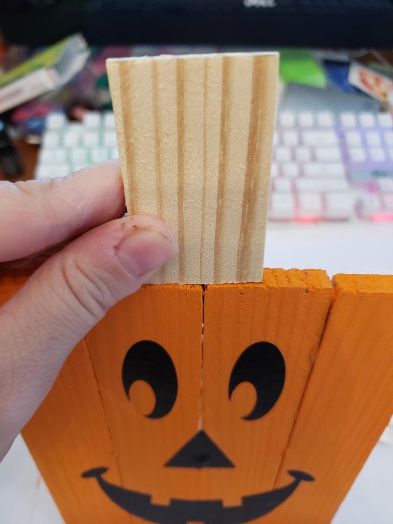 Create the Pumpkin Stem
